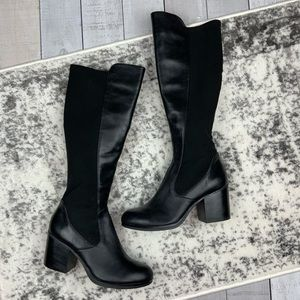 Nine West Jantao heeled leather boots